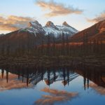 Three Sisters original acrylic painting by Canadian artist Darren Haley