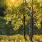 Summer Warmth Original Painting by Artists On Tour Artist Andrew Kiss