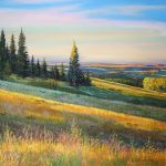 Cypress Hills Morning Original Painting by Artists On Tour Artist Andrew Kiss
