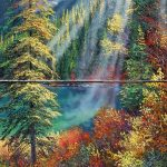 Emerald Morning Original Painting by Artists On Tour Artist Andrew Kiss