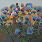 Thistles Original Painting by Artists On Tour Artist Andrew Kiss
