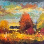 Big Sky Country original oil painting by Canadian artist Neil Patterson