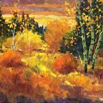 Path To The Colours original oil painting by Canadian artist Neil Patterson