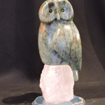 Soapstone carving by Canadian artist Vance Theoret