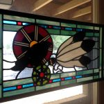 Custom Stained Glass by Elizabeth Hertz from Suncatchers Design Studio Arts in Bragg Creek