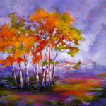 andscape Painting by Artist On Tour Artist Debra Martin